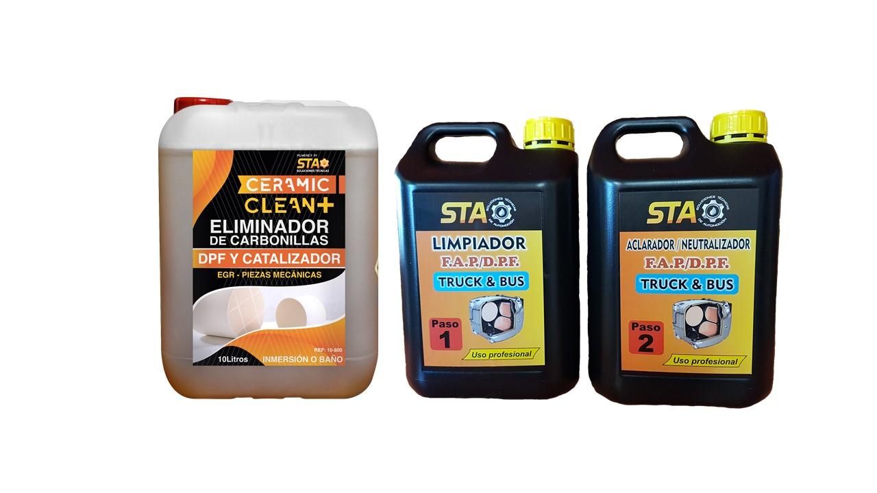 Limpiador de filtro de partículas anticontaminación de vehículos